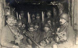 Lövészárokban... hátrány volt a hosszú cső és bajonett