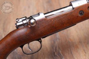 Klasszikus Mauser zárszerkezet egyenes karral