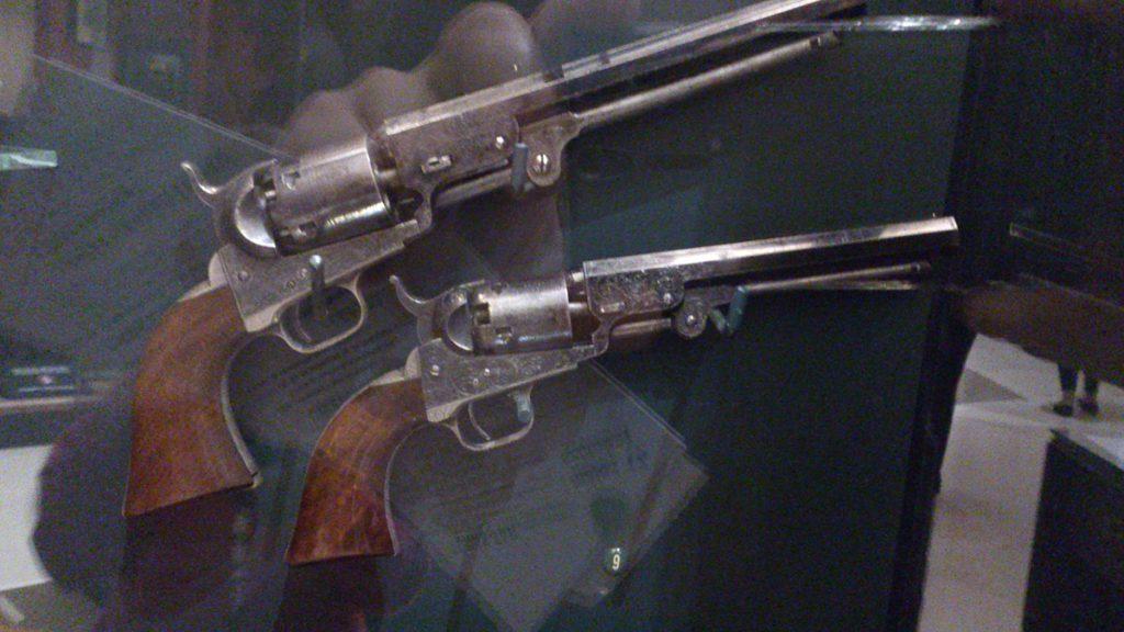 Kossuth Lajos Colt revolverei (Nemzeti Múzeum)