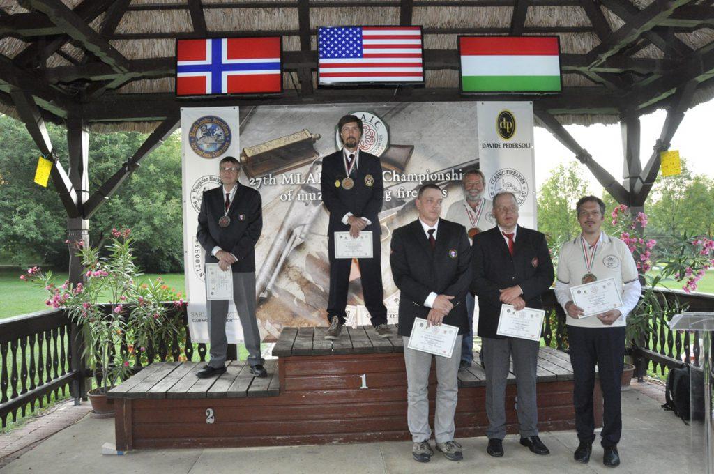 Gettysburg: Nyitrai Józsi bronzérmes