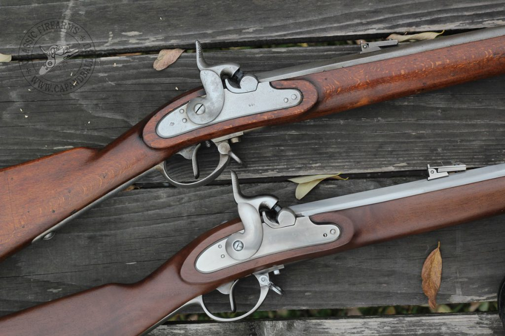 Eredeti és Pedersoli Lorenz puska