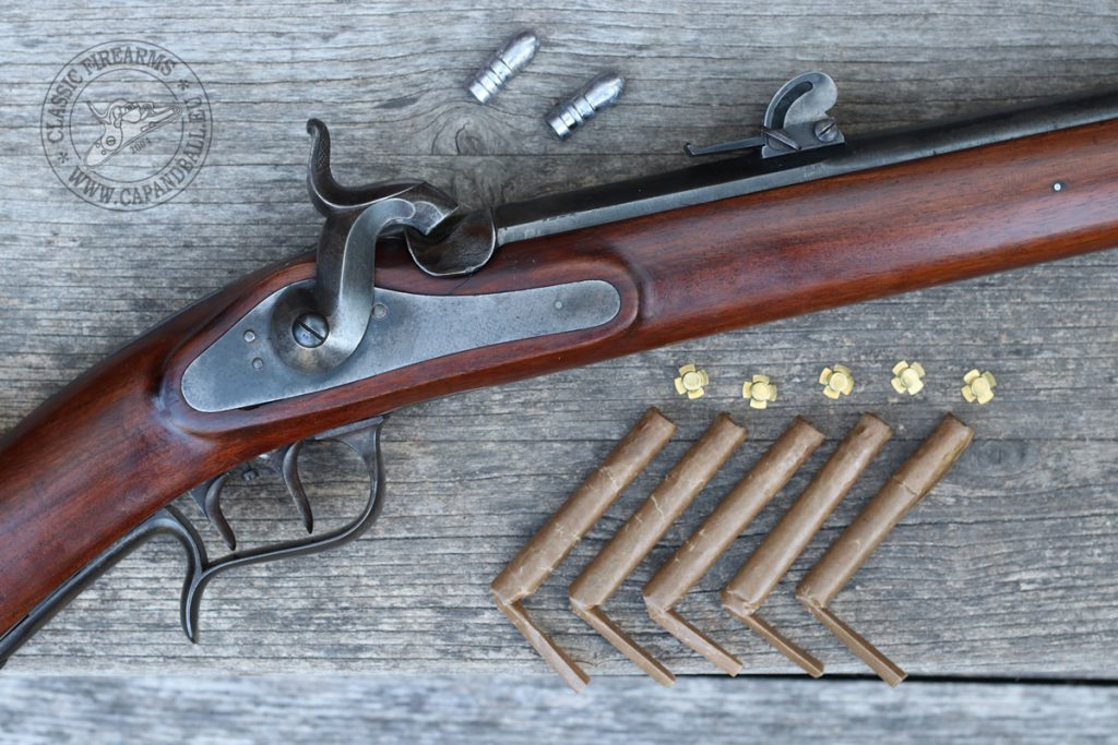 My Model 1851 Feldstutzer with Buholzer cartridges ready to (rock 'n) roll.