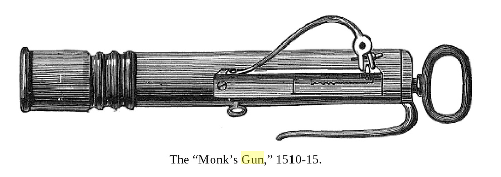 The Monk's gun, or the rasp lock