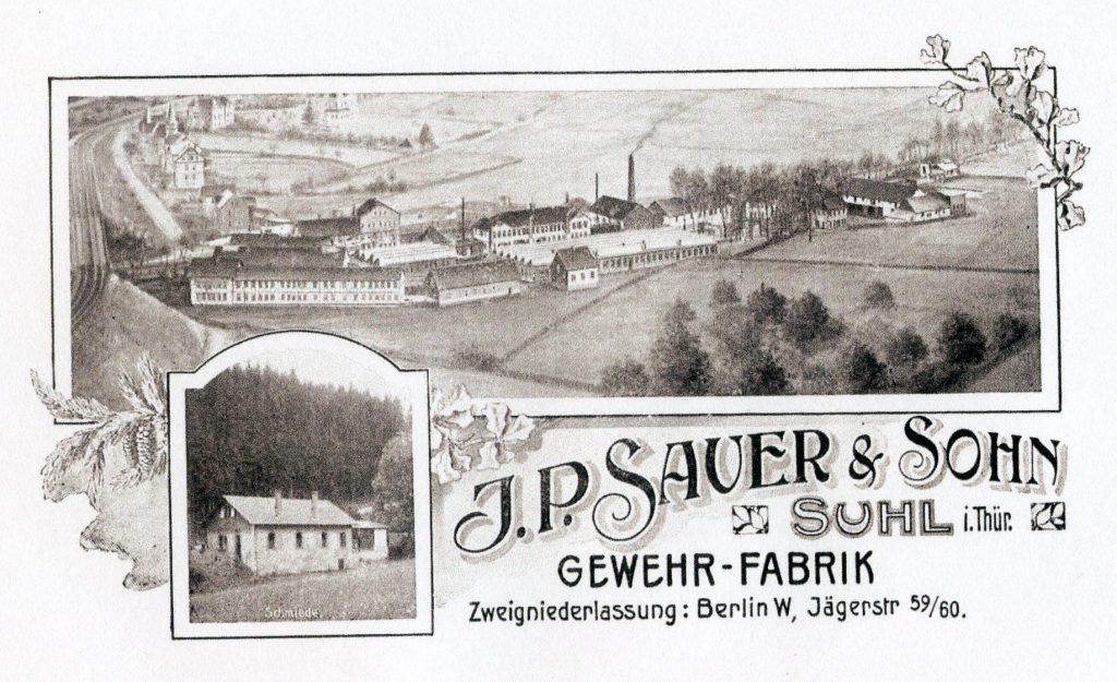 Sauer hirdetés a . század végéről Forrás: germanhuntingguns.com