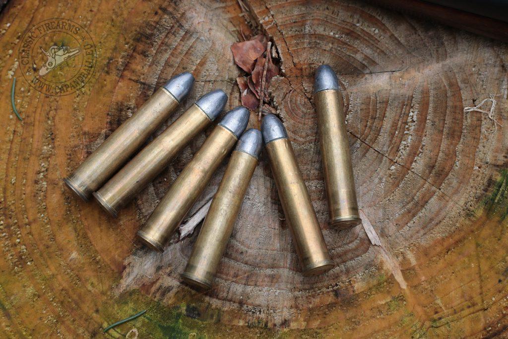Újratöltött 11,15x60R lőszerek