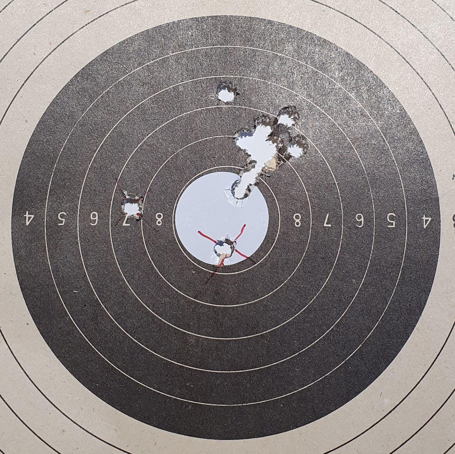 52 gr Sierra Match King, 116 m, 27 mm